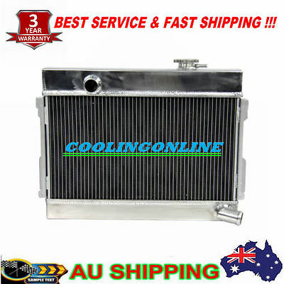 3 Row Core Aluminum Alloy Radiator for Datsun 1600 Manual three Year Warranty
