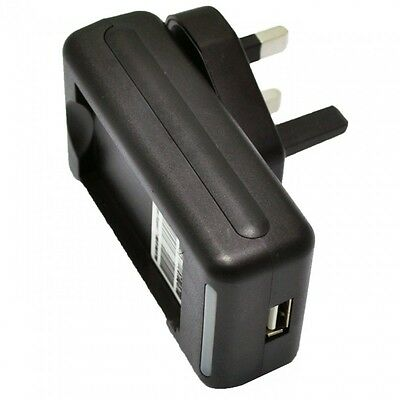 Travel Desktop Wall Dock Charger For Samsung I9500 Galaxy S4