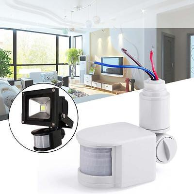 Security PIR Infrared Motion Sensor Detector Wall LED Lights Outdoor RF  AB
