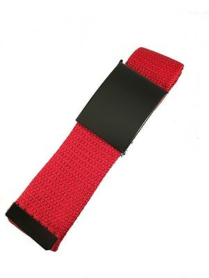 Canvas Belt - Casual Style - 4 colours available includes free wristband