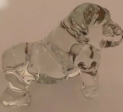 Gorilla Figurine Crystal Glass BEAST Gift Wild Jungle