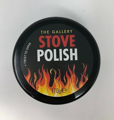The Gallery Stove & Grate Polish -  Black 170g