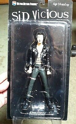 Sid Vicious NO Sunglasses -Medicom Figurine. NEW