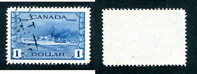 Used Canada $1 Destroyer Stamp #262 (Lot #11182)