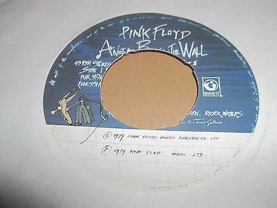 """Pink Floyd """" Another Brick In The Wall """" 7"""" Single 1979 Vg Har 5194"""