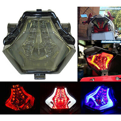 Led Light-Guide Tail Light Integrated Turn Signal Fit YAMAHA R3 MT-03 MT-07 FZ07