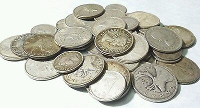 $10 Face value 80% Canadian Silver coins
