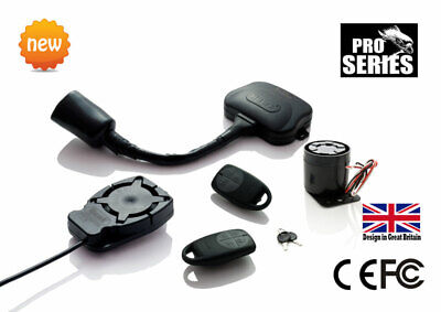 Motorcycle  Alarm & Immobiliser + Battery Backup Siren