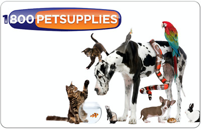 1-800-PetSupplies.com Digital Gift Card - Email delivery