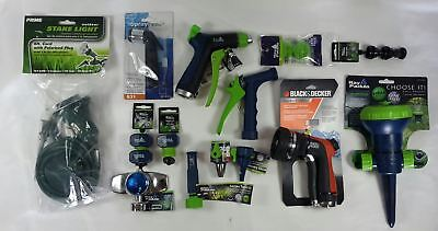Wholesale Lot of 37 Miscellaneous Lawn Gardering Outdoor Sprinkler Hose Items