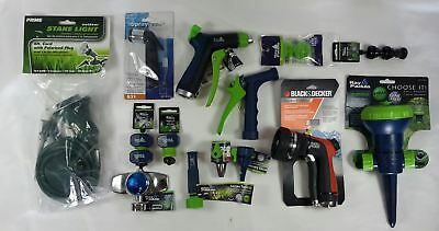 Wholesale Lot of 38 Miscellaneous Lawn Gardering Outdoor Sprinkler Hose Items