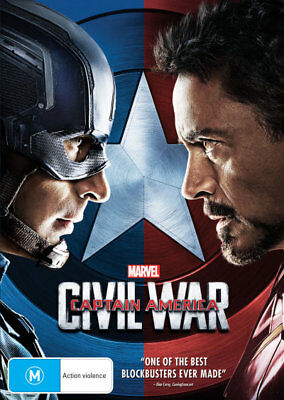Captain America: Civil War  - DVD - NEW Region 4