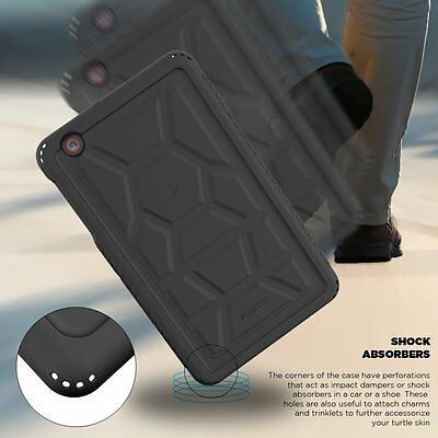 Black Rugged Protective Silicone Case Sound-Amplification for AT&T TREK 2 HD