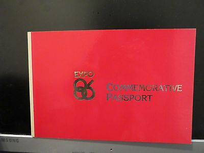 EXPO 86 Commemorative Passport Vancouver World Exposition