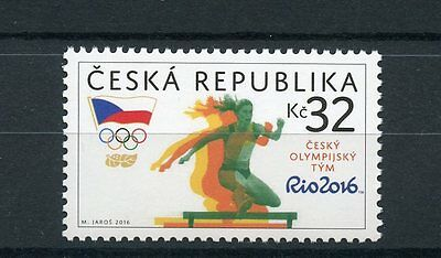Czech Republic 2016 MNH Summer Olympic Games Rio 1v Set Sports Olympics Stamps