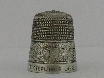 Solid Sterling Silver Thimble