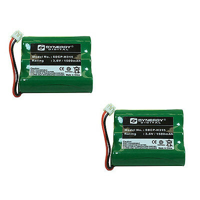 AT&T-Lucent E2727B Cordless Phone Battery Combo-Pack incl. 2xSDCP-H315 Batteries