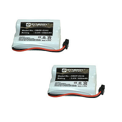 Sony BP-T38 Cordless Phone Battery Combo-Pack includes: 2 x SDCP-C312 Batteries