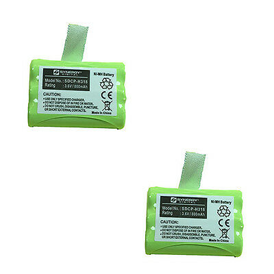 GP GP80AAAH3BXZ Cordless Phone Battery Combo-Pack incl.: 2xSDCP-H318 Batteries
