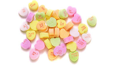 Conversation Hearts Candy Small  Rito 2 Lbs (907g) classic Party Wedding Buffet
