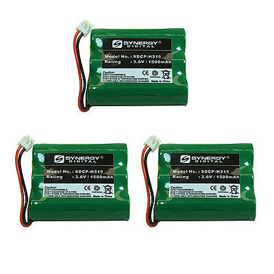 V-tech 80-5071-00-00 Cordless Phone Battery 3-Pack incl. 3xSDCP-H315 Batteries