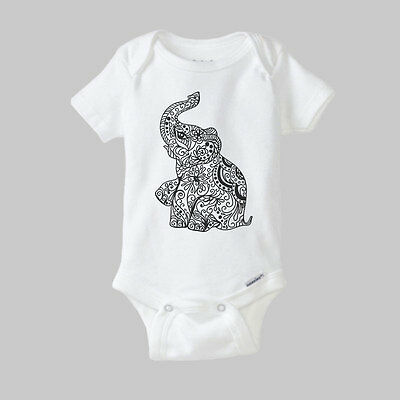 Elephant ONESIE ® - cute baby clothes, baby romper, bodysuit, one piece, gift