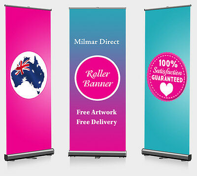 PERSONALIZED Roller Banner/Roll up/Pull up/Pop up banner Kit Outdoor Indoor