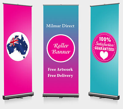 800x2000mm PERSONALIZED Roller/Roll up/Pull up/Pop up banner Kit Outdoor Indoor