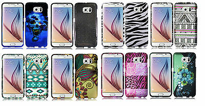 Hard Design Protector Cover Case for Samsung Galaxy S6 S907VL Phone Accessory