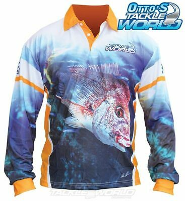 Tackle World Snapper 2016 Long Sleeve Fishing Sun Shirt BRAND NEW at Otto's