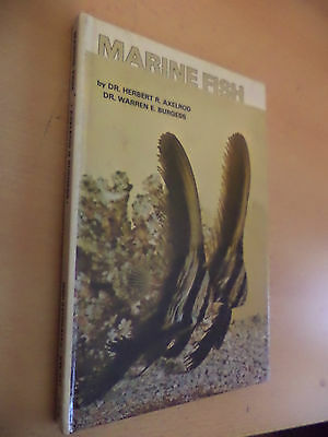 Marine Fish Aquarium Fishkeeping Fish Guide Book Dr Herbert Axelrod Burgess