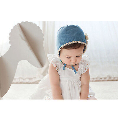 Soft & comfortable Baby Girl Infant Newborn Kids Lace Hat Cap Beanie Bonnet Hats