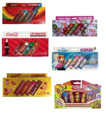 New Fruity Flavour Lip Smacker Kids Lip Balm Gift Set Sets