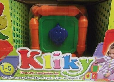 NEW Plastwood Kliky Fruits magnetic construction toys
