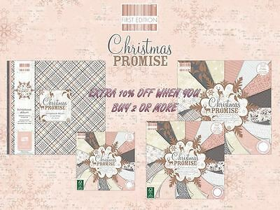 First Edition Christmas Promise Scrapbooking / Paper Craft FULL RANGE