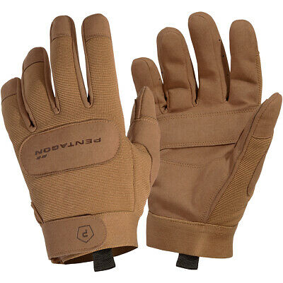 Pentagon Duty Mechanic Gloves Hiking Outdoor Double Layer Camping Wear Coyote