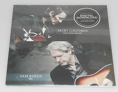 "Mary Gauthier & Sam Baker When A Woman Goes Cold/Ditch NEW / SEALED (SGLE 7"")"