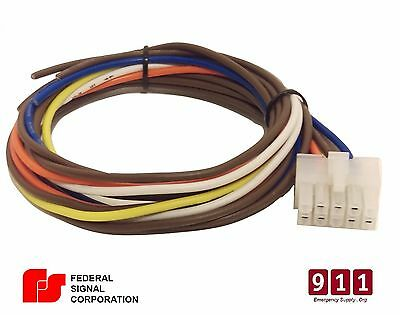 FEDERAL SIGNAL PA300 10 Pin Wiring Cable Kit Rear Accessory Connector on