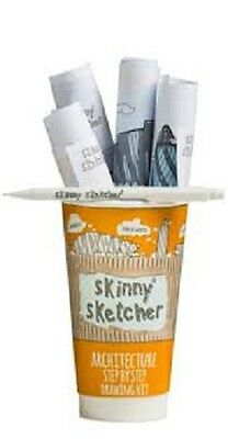 Skinny Sketcher Step By Step Drawing Kit Architecture SK840002