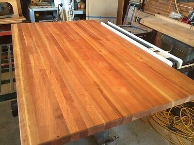 Forever Joint Cherry Butcher Block Top 1 2 X 26 X38