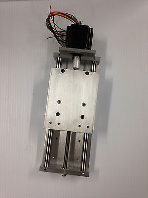 CNC Z axis Slide DIY CNC PLASMA OXY ROUTER linear motion NEMA 23 ANTI BACKLASH
