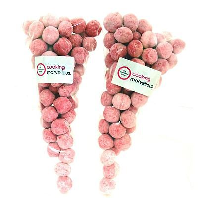 Chewy Strawberry Bon Bon Candy Sweets 500g