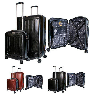 New Jeep Luggage Set Of 2 Lightweight Suitcases For Traveling, Holidays & Trip