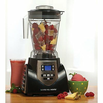 Powerful Pro Commercial Fruit Smoothie Blender Heavy Duty Juice Mixer Food -Home
