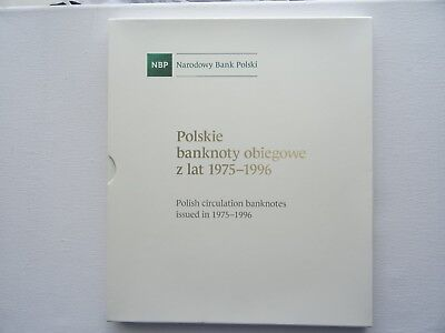 Polish Circulation Banknotes issued in 1975-1996