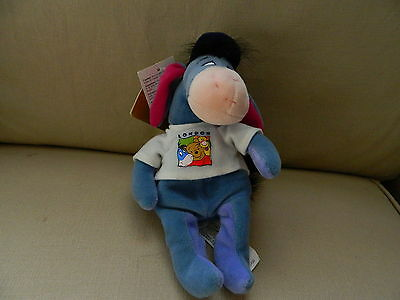 Disney Mini Bean Bag LONDON EEYORE 9 INCH Soft Toy New with Tags