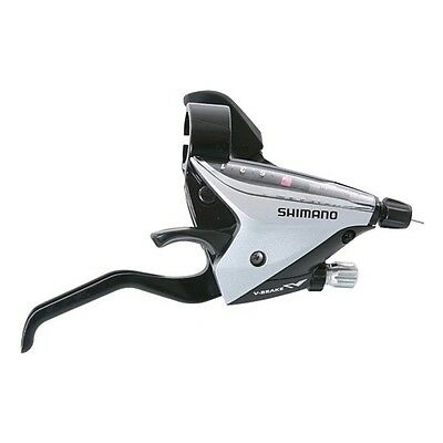 """SHIMANO Shift/Brake Lever """"ST-EF 65"""" Mod. 12 7-speed right, silver 448304"""