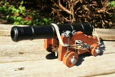 Civil War Miniature Naval Designed Cannon - Confederate - Union - Denix Replica