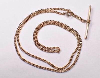 Antique   gold filled long Pocket Watch Fob Chain 12 Inches