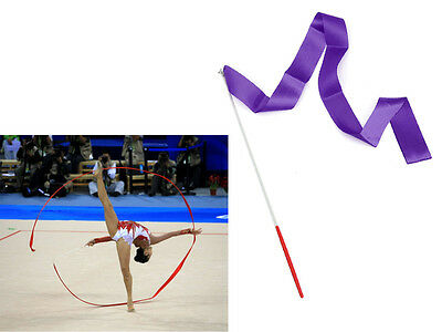 4M Gym Dancing Ribbon Rhythmic Dance Training Colors Streamer Twirling